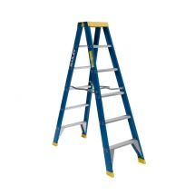 Step Ladder Fibreglass 6' 1.8m