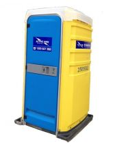 PORTABLE TOILET SEWER CONNECT