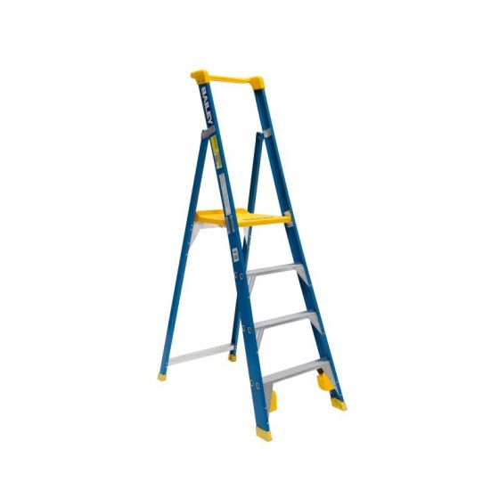 Platform Ladder Fibreglass 5' 1.5m