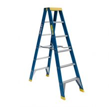 Step Ladder 6' 1.8m Fibreglass
