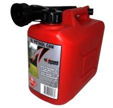 Fuel Can 5 litre Unleaded Petrol
