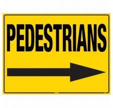 Sign Pedestrian Right