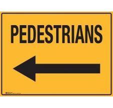 Sign Pedestrian Left